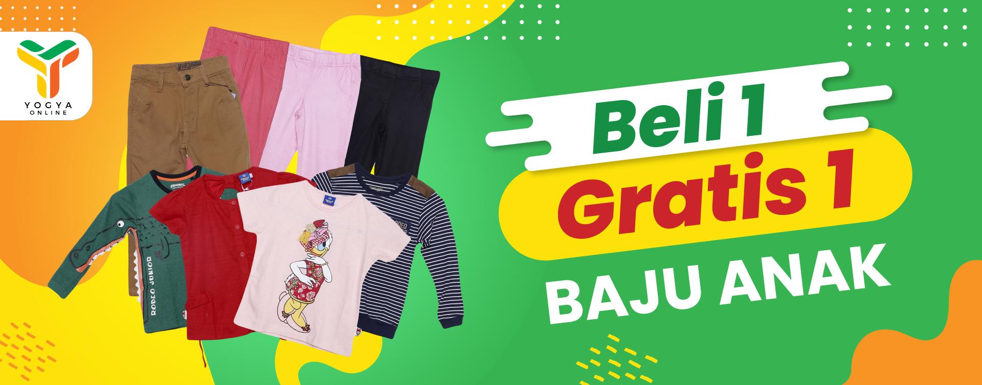 Baju Anak Buy 1 Get 1