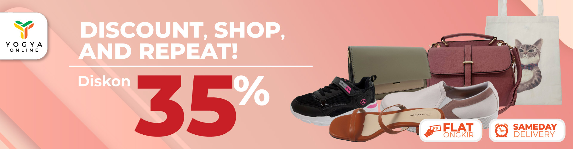 Shoes and Bag 35%