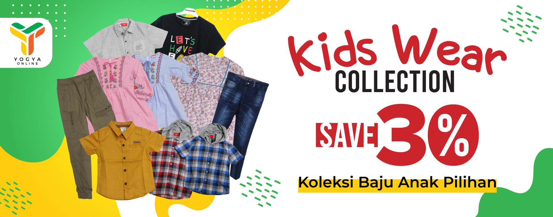 Kids Wear Collection Diskon 30%